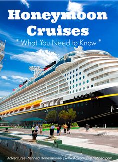 Thinking about a Cruise for your Honeymoon?  We have all the details. Grab the full cruise guide here: http://www.adventuresplanned.com/2013/10/14/honeymoon-cruise-tips-making-the-most-of-your-voyage/