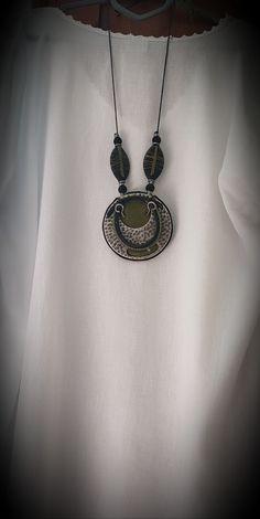 Handmade Necklaces, Washer Necklace, Etsy, Shopping, Jewelry, Fashion, Moda, Jewlery, Jewerly