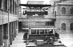 Datei:Betriebshof Spreestraße 1904 (Wagen Halle) der Berlin-Charlottenburger Strassenbahn