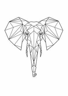 Elefante rabiscos