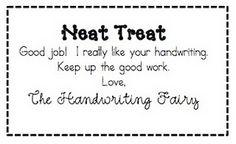 Neat Trick - Handwriting Fairy