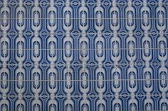 Azul azulejo textura de un muro en Oporto, Portugal