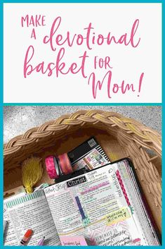 Give Mom a gift that she'll use every single dayand that will encourage her in her faith! Scripture Reading, Scripture Study, Bible Verses, Bible Art, Bible Studies For Beginners, Bible Study Tips, Bible Prayers, Daily Bible, Christian Encouragement