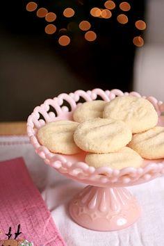 soft almond sugar cookies. Yum.