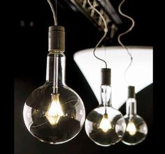 New 200mm Dia decorative glass bulb and 2600K Very Warm. #LED lamp. Contact Moth @S_Moth