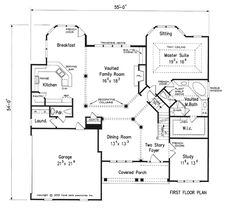 Windward - Home Plans and House Plans by Frank Betz Associates