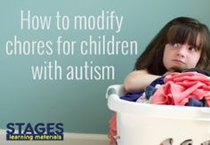 How to Modify Chores for your Child with Autism