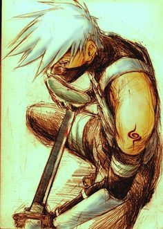 Kakashi. I haven't watched Naruto in years but this is so good and he's my favorite