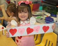 little pumpkin grace: preschool party! name patterns