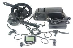 Air free shipping No duty tax 36V 250W bafang mid motor with 36V 14.5ah lihtium battery panasonic cells