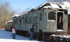 old trains - remake this into a Bed and Breakfast!