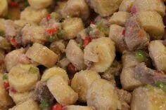 Escabeche de guineos con moyejitas