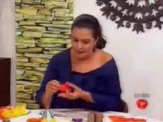 AULA 25: ENSINANDO ENGOMAR TECIDO PARA FAZER FLORES(atendendo pedidos) - YouTube
