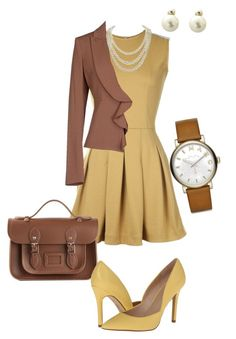 Work Week - Fun by sonyastyle on Polyvore featuring polyvore, fashion, style, TheP., Pinko, Charles by Charles David, The Cambridge Satchel Company, Marc by Marc Jacobs, DaVonna, Christian Dior, clothing, WorkWear, Work and workblazer