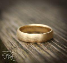 wedding rings for men Gold Wedding Band Ring for Men - Brushed Gold - Gold, Engagements Titanium Wedding Rings, Custom Wedding Rings, Silver Wedding Bands, Wedding Men, Diamond Wedding Rings, Wedding Ring Bands, Celtic Wedding, Wedding Shoes, Wedding Stuff
