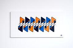 TRAVAUX PERSONNELS on Behance - Peinture acrylique sur toile.