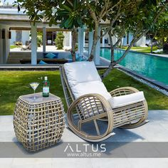The Moon Island collection from Belgian outdoor furniture