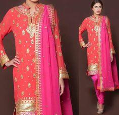 #StylishLongpajamisuit #Partywearpajamisuitdesign #LatestPajamisuitSale #StylishPajamisuitonline  Maharani Designer Boutique  To buy it click on this link http://maharanidesigner.com/Anarkali-Dresses-Online/pajami-suits-online/ RS 7900 Fabric-Georgette Fine quality fabric. Hand work For any more information contact on WhatsApp or call 8699101094 Website www.maharanidesigner.com