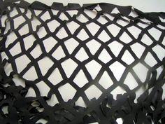 Laser Cut Diamond Pattern In Silk - Laser Cutting Shapes Silk Laser, Laser Cutting Service, Laser Cut Patterns, Diamond Pattern, Fabric, Design, Shapes, Stationery, Architecture