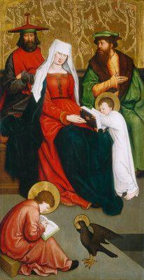 Strigel, Bernhard German, 1460/1461 - 1528 Saint Mary Salome and Her Family c. 1520/1528