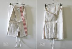 I want one of these aprons. hemp linen bistro apron by sadieolive on Etsy, $38.00