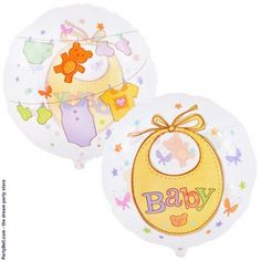 Baby Clothesline See-Thru Foil Balloon  $3.14