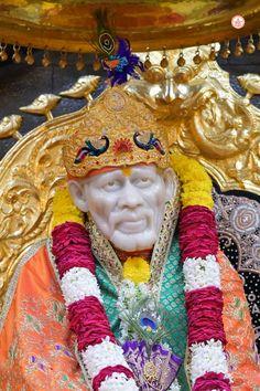 Shirdi Sai Baba Wallpapers, Sai Ram, Whatsapp Group, Buddha, Om, Faith, Statue, Life, Loyalty