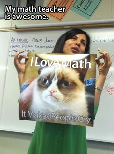 Awesome Math Teacher…