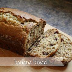 Live a Little Wilder: banana bread {recipe}