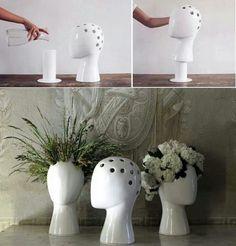 Don't ask why I like these; I just do! #headvase #vase #creative #decor