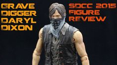 The Walking Dead Grave Digger Daryl Dixon SDCC 2015 Exclusive Figure Review