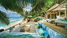 Seaside outdoor living