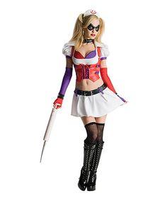0c9ecfeed6 Harley Quinn Asylum Adult Costume Set by Batman