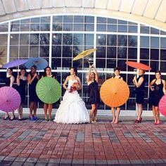 a rainbow wedding:)
