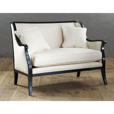 Too rich for me, but I do like it.  Bedford Settee $999 (Ballard Designs)