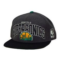 3578651aaaf Hwc Seattle Supersonics Snapback Hat