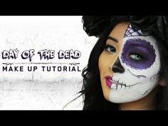 ▶ Day of the Dead Makeup Tutorial [iHeartRaves.com] - YouTube