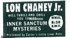 Lon Chaney Jr. on Inner Sanctum
