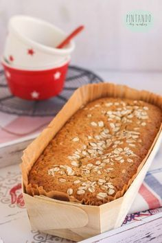 Ideas y cosas ricas Avena Recipe, Cake Recipes, Dessert Recipes, Delicious Desserts, Yummy Food, Island Food, Healthy Sweets, Sin Gluten, Cakes And More