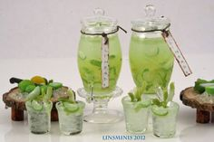 cool refreshing limeade