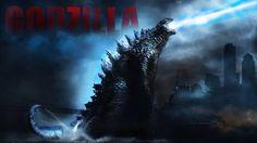 Godzilla: Atomic Breath Digital Illustration Photoshop CC