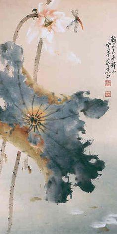 *saved by oldsum Oriental Print, Oriental Design, Japanese Painting, Chinese Painting, Japanese Art, Chinese Brush, Chinese Art, Asian Inspired Decor, Chinese Drawings