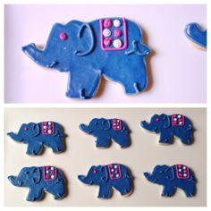 elephants with blankets XOXO Sweets Dallas, TX