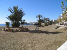 One of the lovely beaches in Aguilas