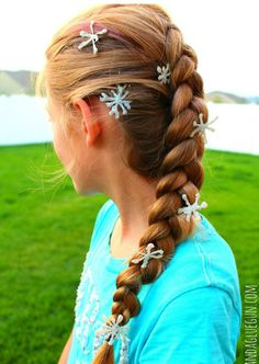 Complete your Elsa Halloween costume by making these Frozen DIY Hair Accessories! You'll be amazed when you discover how easy they are to make.