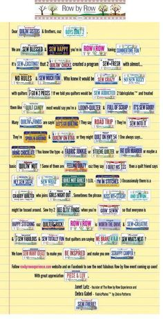 Story Plate Quilt. What a great use with all the wonderful license plates you have collected!