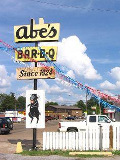 Abe's Bar B Q Since 1924, Mississippi Delta (Clarksdale)