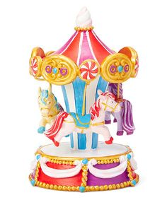 Candy Carnival Carousel Figurine