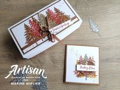 Lot In the pines de Stampin'Up! par l'Artisan Design Team Marine Wiplier