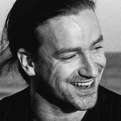Bono smiles